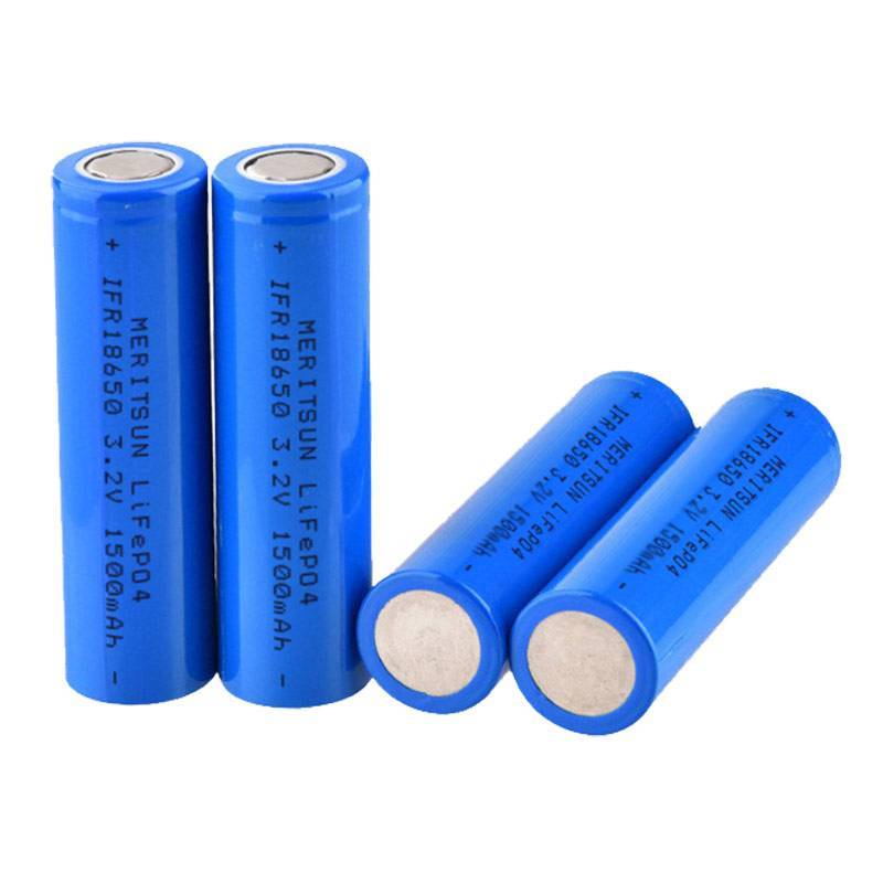 lithium ion battery cells 1500mah MERITSUN Brand li ion battery cell
