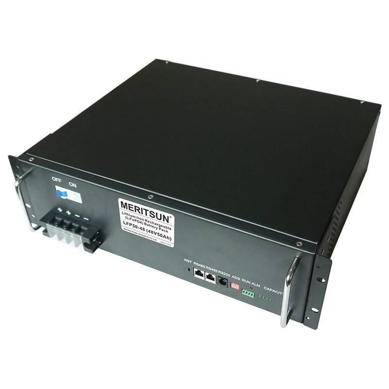 solar energy storage system storage battery energy storage system 100ah MERITSUN