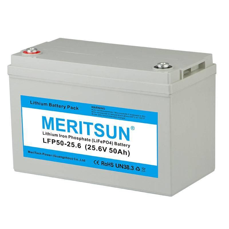 phosphate lifepo4 battery polymer MERITSUN company