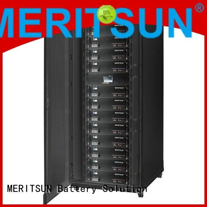 solar energy storage system lithium storage energy MERITSUN