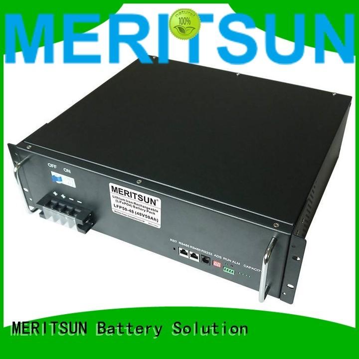 solar energy storage system energy system MERITSUN Brand company