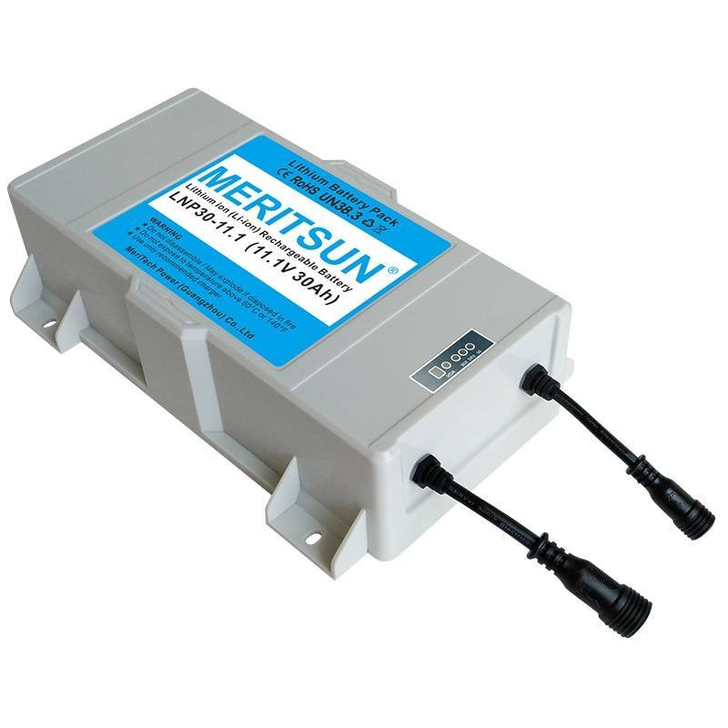 12V 30Ah Solar Street Light Rechargeable Lipo Lithium ion Battery