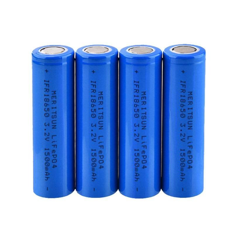 IFR 18650 3.2V 1500mAh Lithium Li-ion Li ion LiFePO4 Rechargeable Lithium ion Battery Cell