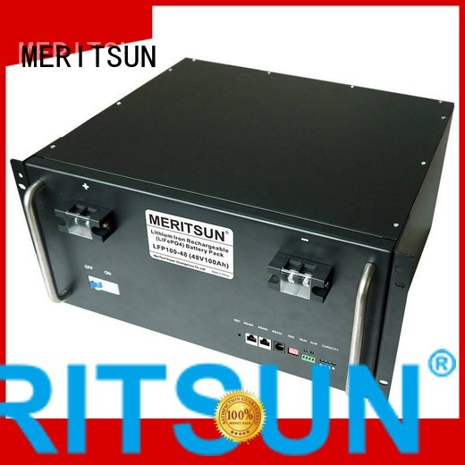 Hot battery energy storage system phosphate MERITSUN Brand