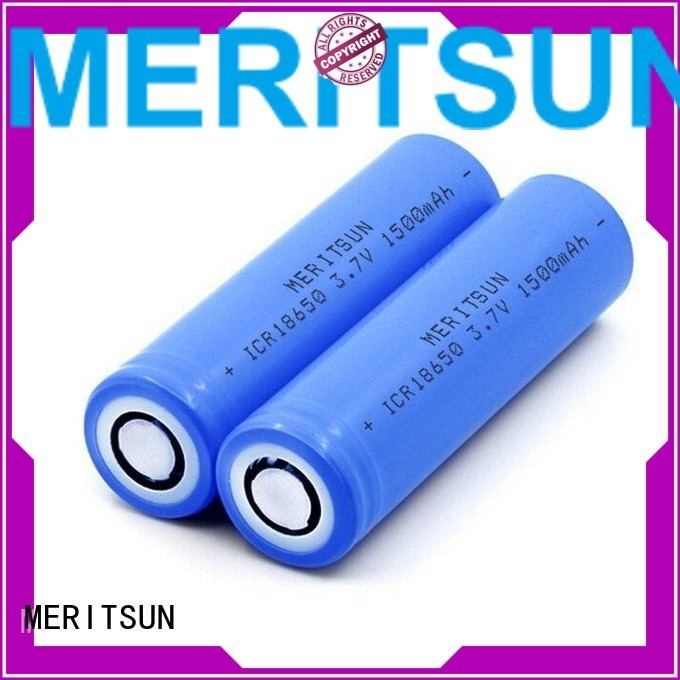 MERITSUN Brand ifr 36v 1500mah li ion battery cell manufacture