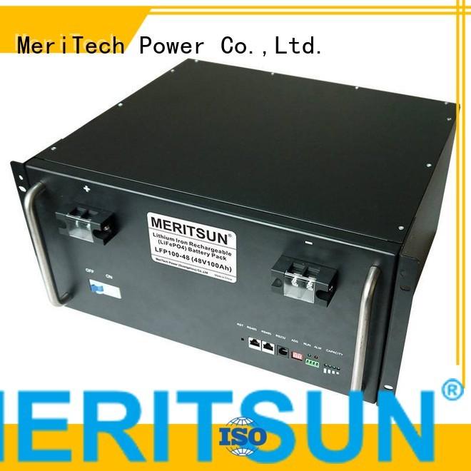 lithium ess battery energy storage system phosphate MERITSUN Brand company