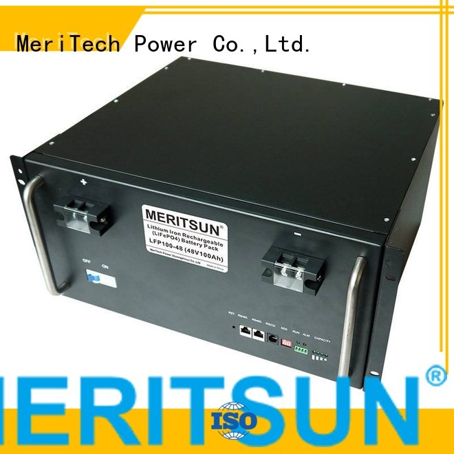 50ah energy solar energy storage system MERITSUN Brand
