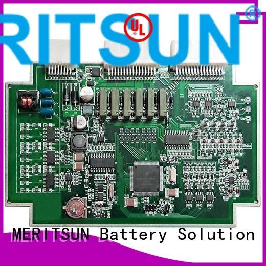 pcba bmu printed circuit board assembly bms MERITSUN Brand