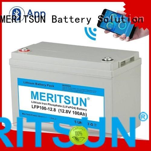 phosphate lifepo4 battery lifepo4 deep MERITSUN company