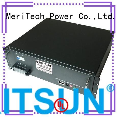 Wholesale telecom lifepo4 battery energy storage system MERITSUN Brand
