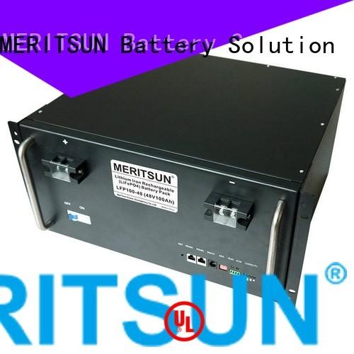 solar energy storage system ess lifepo4 battery energy storage system MERITSUN Brand