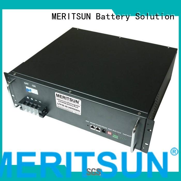 50ah solar energy storage system iron MERITSUN company