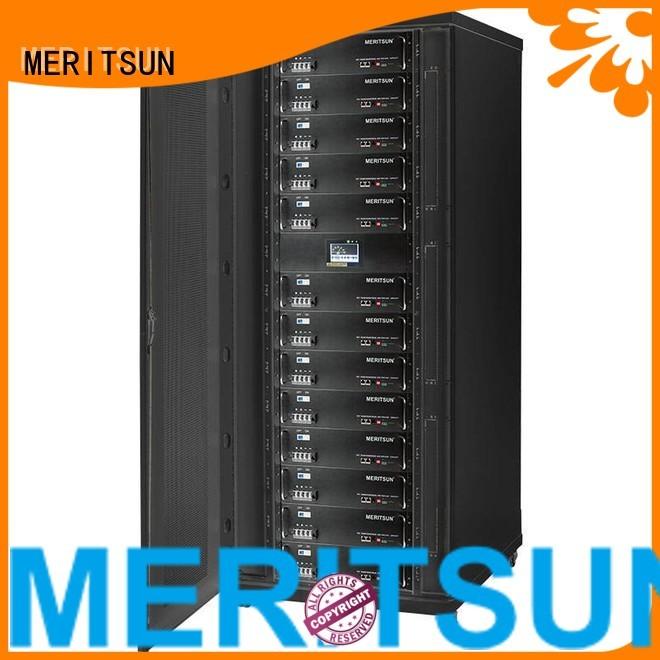 solar energy storage system lithium energy battery energy storage system MERITSUN Brand