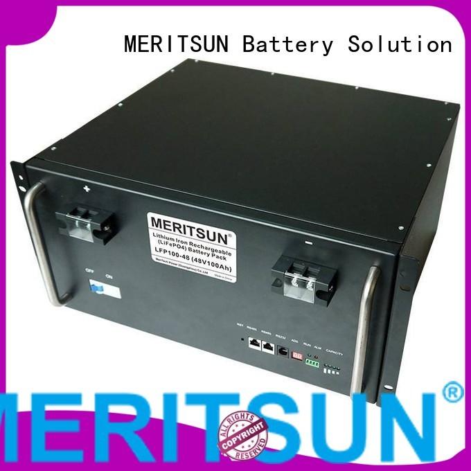 Wholesale 48v solar energy storage system MERITSUN Brand