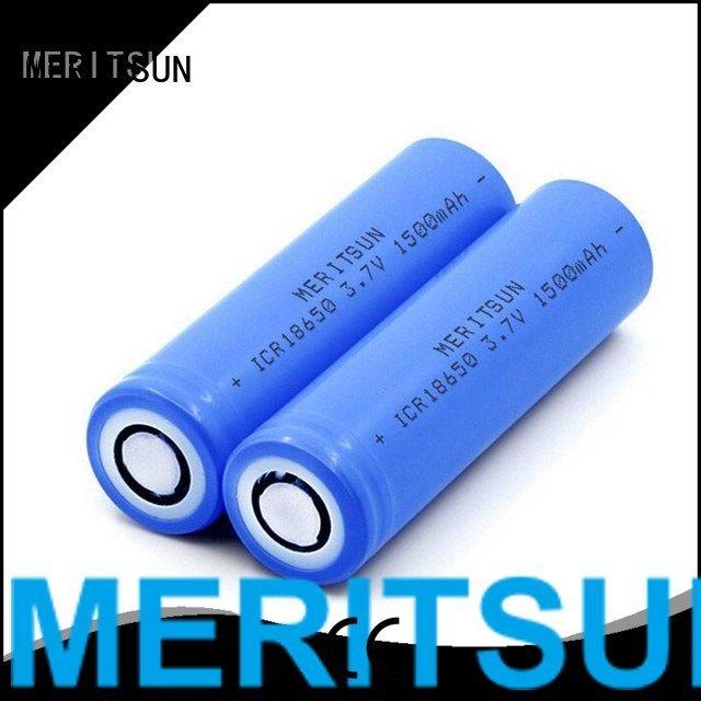 li ifr 1500mah MERITSUN lithium ion battery cells