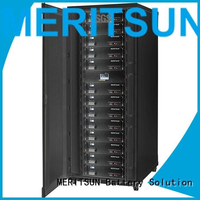 MERITSUN telecom battery energy storage system solar system