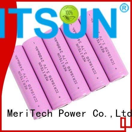 battery drain 36v icr MERITSUN li ion battery cell