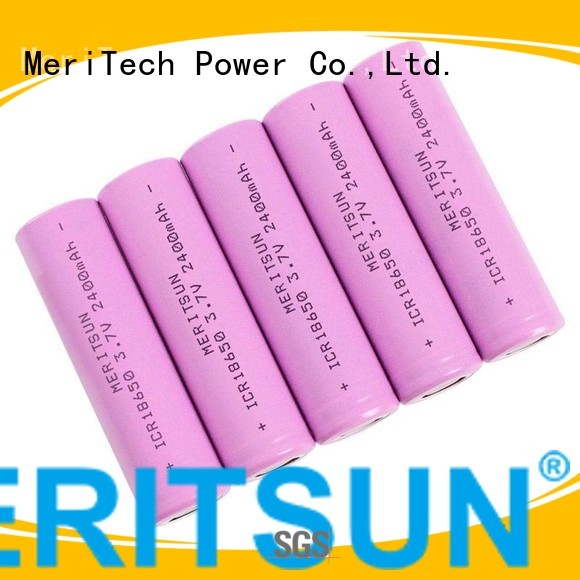 li icr lipo li ion battery cell MERITSUN