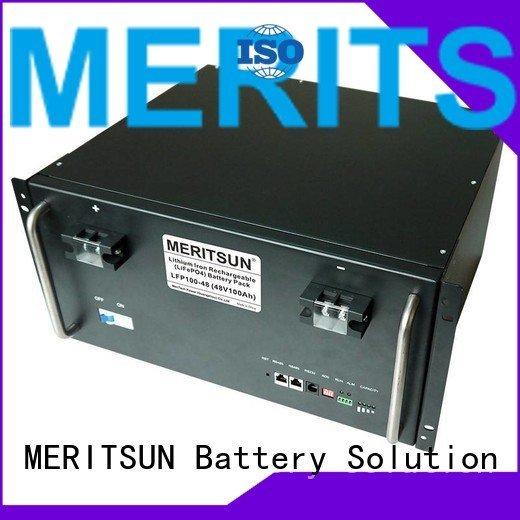 MERITSUN solar energy storage system lithium battery phosphate