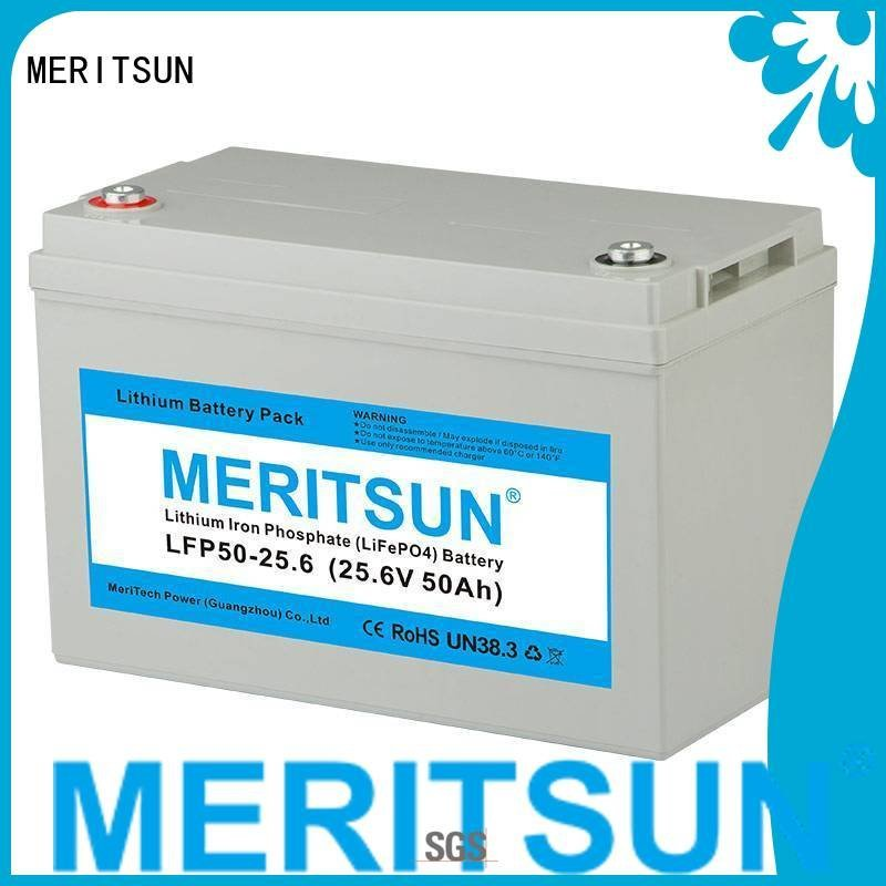 256v bluetooth lifepo4 battery price MERITSUN