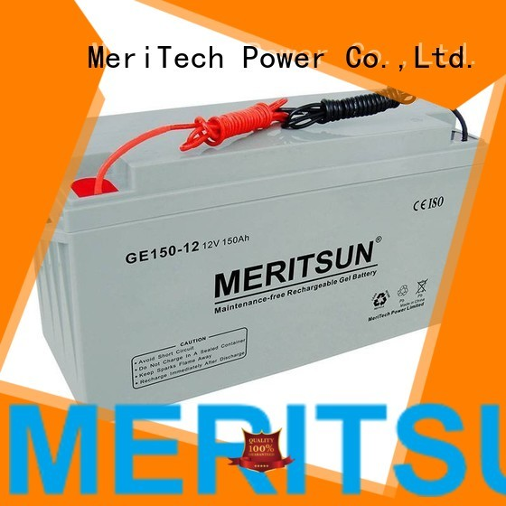 opzs opzv vrla gel battery cycle front MERITSUN Brand