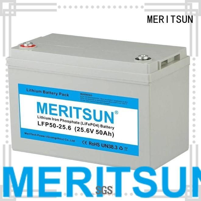 lifepo4 battery price lifepo4 pack cycle Warranty MERITSUN