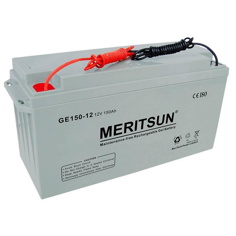MERITSUN GEL Battery VRLA / GEL / OPzV / OPzS Battery image8
