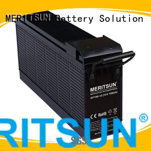 MERITSUN Brand telecom deep opzv battery battery factory