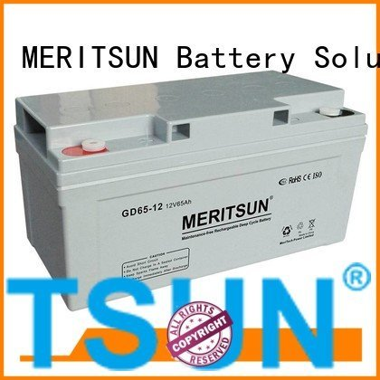 Custom opzv battery flooded cycle front MERITSUN