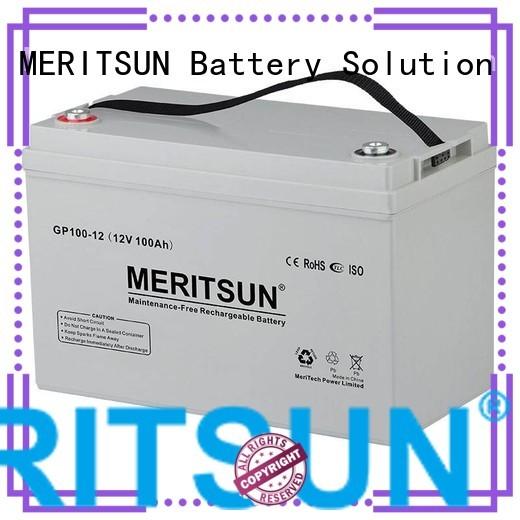 vrla gel battery cycle tubular MERITSUN Brand