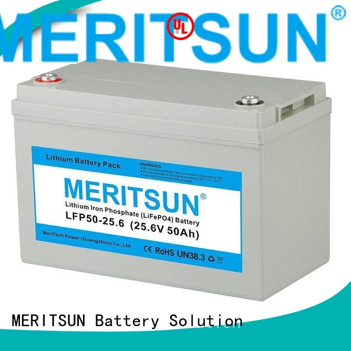 lifepo4 battery price bluetooth control Warranty MERITSUN