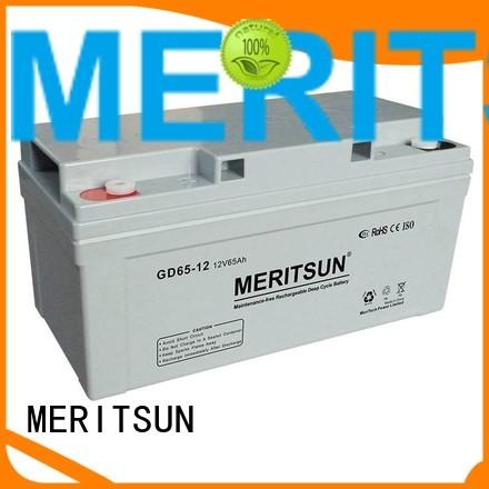MERITSUN Brand opzs gel flooded opzv battery