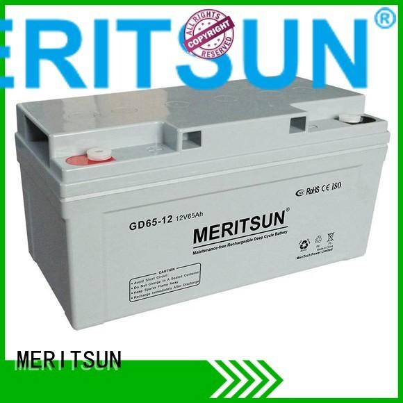 vrla gel battery opzv deep MERITSUN Brand company