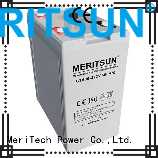 Wholesale deep vrla gel battery MERITSUN Brand