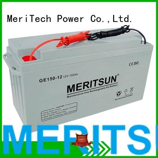 gel opzv battery opzs telecom MERITSUN company