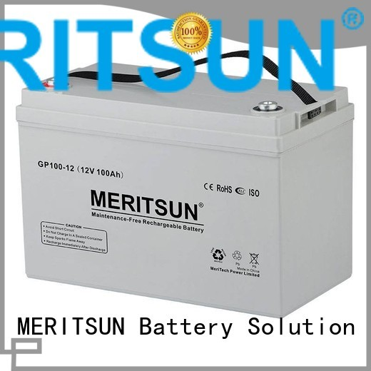 vrla gel battery opzv vrla MERITSUN Brand company
