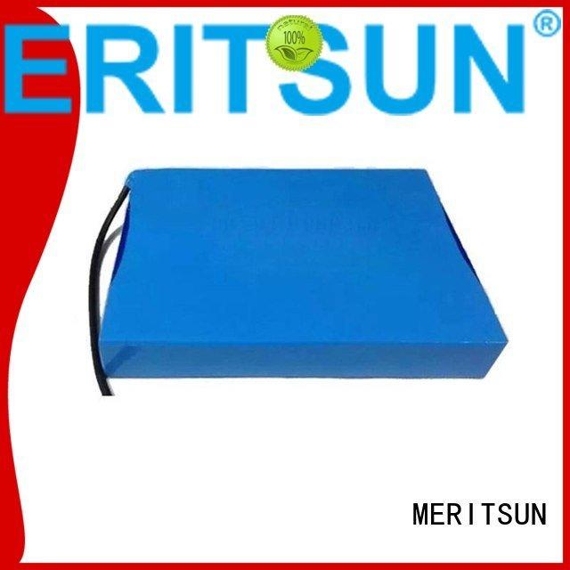 street one solar street light lithium battery ion MERITSUN
