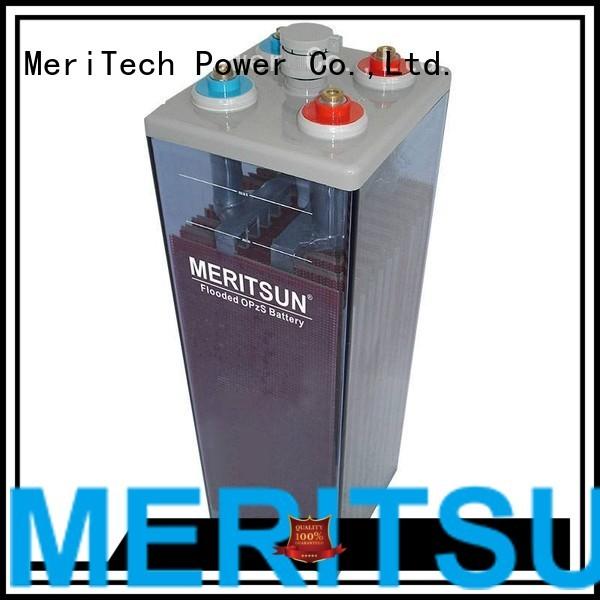 tubular vrla gel battery gel MERITSUN company