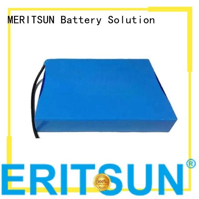 liion lipolymer solar street light lithium battery MERITSUN Brand