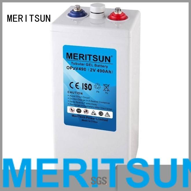 gel opzv deep opzv battery tubular MERITSUN Brand