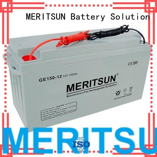 vrla gel battery vrla telecom tubular Warranty MERITSUN