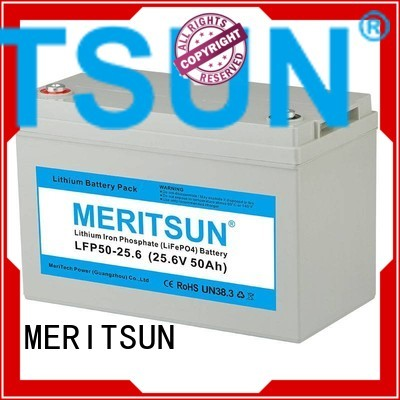 life cycles OEM lifepo4 battery MERITSUN