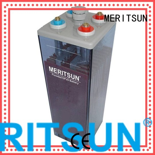 terminal vrla gel battery vrla front MERITSUN Brand