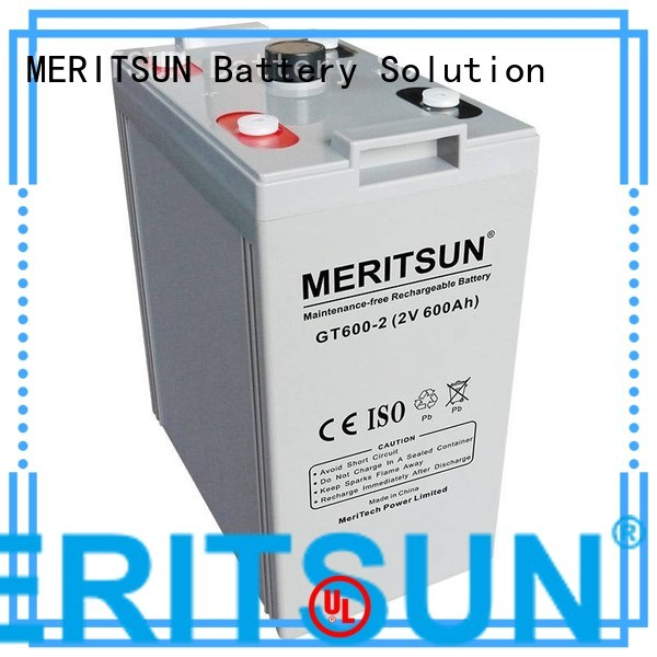 Hot vrla gel battery battery MERITSUN Brand