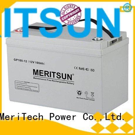vrla gel battery opzs flooded gel front MERITSUN