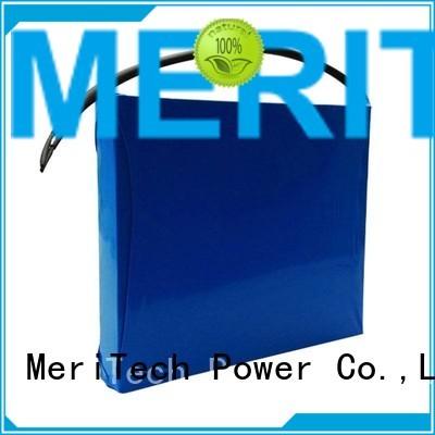 lithium ion battery for solar street light 30ah cycle solar street light lithium battery integrated MERITSUN Brand