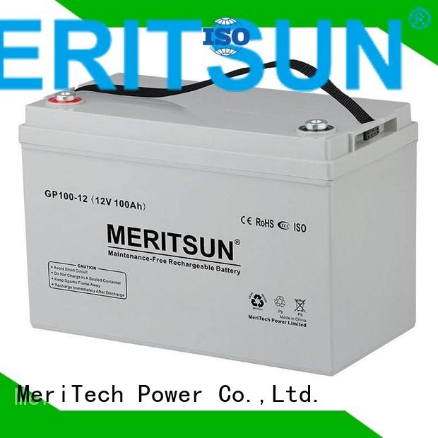 vrla gel battery gel terminal opzv battery tubular MERITSUN Brand