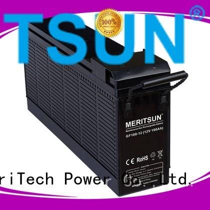 tubular cycle telecom OEM opzv battery MERITSUN