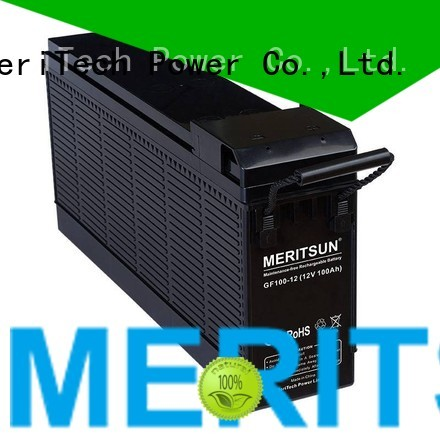 front terminal opzs flooded MERITSUN Brand opzv battery supplier