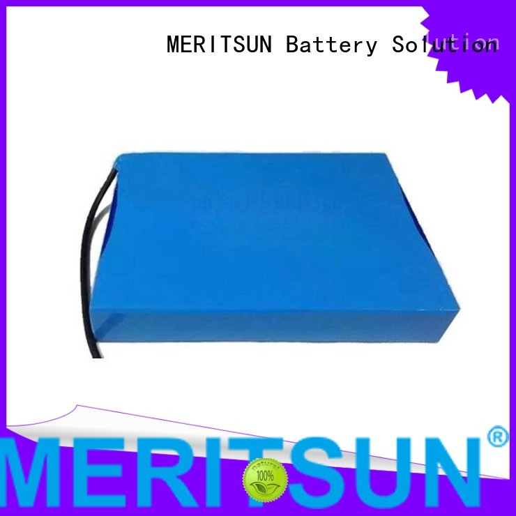 Quality MERITSUN Brand linicomno2 solar street light lithium battery